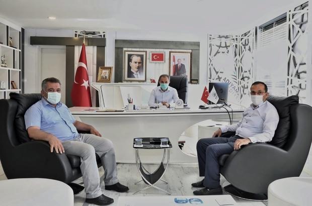 Dağtekin,  Belediye Başkanı Kılınç ile bir araya geldi