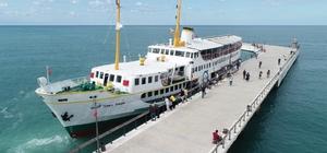 Ordu'da deniz turu başladı Şehit Temel Şimşir Gemisi vatandaşların hizmetine açıldı