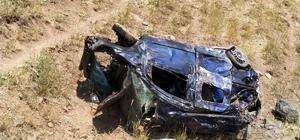 Erciş'te trafik kazası:1 ölü , 2 yaralı