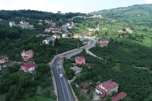 Boztepe'ye otoban gibi yol