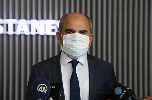 """Konya Şehir Hastanesi hasta kabulüne başladı İl Sağlık Müdürü Koç: """"Sadece Covid dışı hastaların tedavi edildiği tek merkez olarak Konya Şehir Hastanesi hizmete devam edecek"""""""