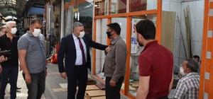 Başkan Sadıkoğlu'ndan Covid-19 denetimleri yorumu