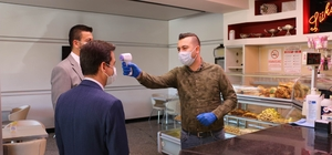 Ürgüp'te korona virüs tedbirleri kontrol edildi Ürgüp halkı maske ve mesafe kurallarına uyuyor