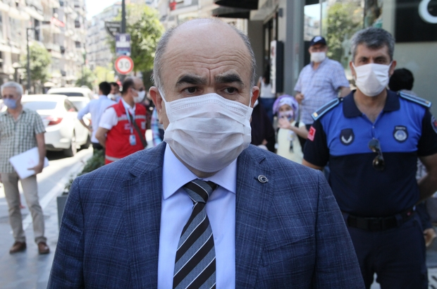 """Vali Dağlı: """"Samsun'da hastanelerin doluluk oranının çok yüksek olduğu iddiaları doğru değil"""" Samsun'da Vali Dağlı ve Başkan Demir'den korona virüsü denetimi"""