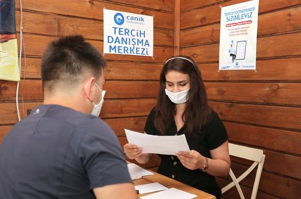 Canik Belediyesi'nden üniversite adaylarına danışmanlık hizmeti