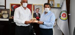 Esenler Belediye Başkanı Göksu'dan, Başkan Uslu'ya ziyaret