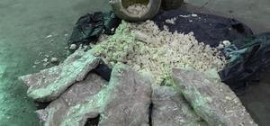 Otlu peynir arasında eroin sevkıyatı Zeyna'ya takıldı Otlu peynir arasına zulalanmış 15 kilo 240 gram eroin ele geçirildi