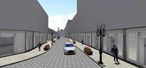 Yüzbaşıoğlu Sokak yeni çehresine kavuşuyor