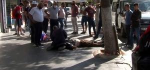 Siirt'te yere yığılan adama korona virüs şüphesiyle kimse yaklaşamadı