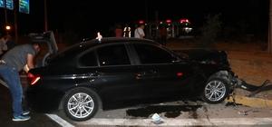Burdur'da trafik kazası: 3 yaralı