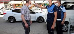 Mardin Büyükşehir Belediyesinden korona virüs denetimi