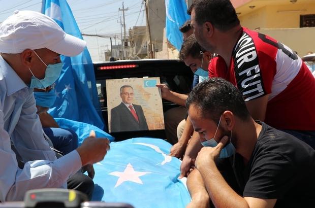 Türkmen siyasetçi Bayatlı gözyaşları içerisinde son yolculuğuna uğurlandı