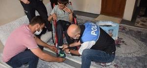 Hakkari polisi engellileri sevindirmeye devam ediyor