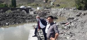DSİ Bölge Müdürü Baysal hızlı başladı Baysal, Kars Çayı ıslah çalışmalarını inceledi