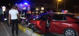 Isparta'da iki otomobil çarpıştı: 7 yaralı