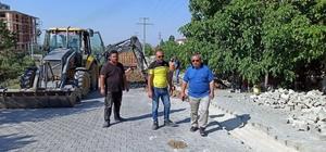 İscehisar'da doğalgaz alt yapı çalışmaları başladı