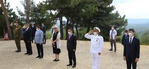 Yeni Zelanda Anıtı'nda sosyal mesafeli tören