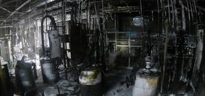 Toyota Fabrikasında çıkan yangında 2 işçi yaralandı Üretime ara verilen fabrikada faciadan dönüldü
