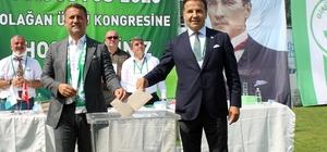 Giresunspor yeni başkanını seçti Giresunspor'da Hakan Karaahmet başkan seçildi