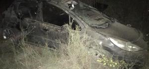 Otomobil 150 metreden uçuruma yuvarlandı: 6 yaralı
