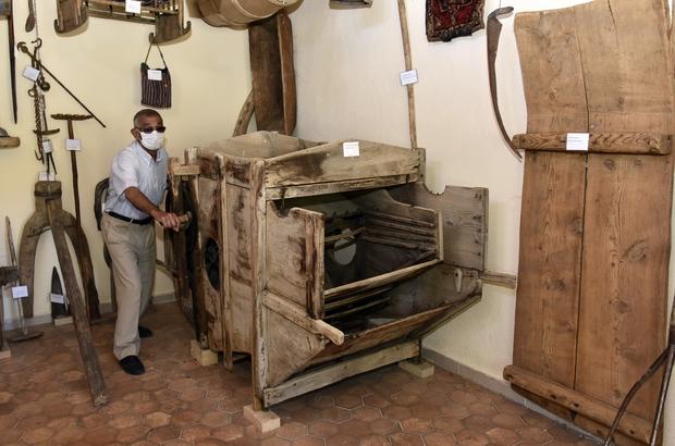 Köyün 200 yıllık tarihini oluşturdukları müzede yaşatıyorlar Gümüşhane'deki bu köyde asırlık eşyalar müzeye dönüştürüldü
