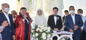 Belediye Başkanı oğlunun nikahını kıydı