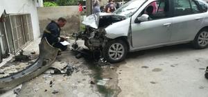Fren yerine gaza basınca daireye girdi Yalova'da davetsiz misafir