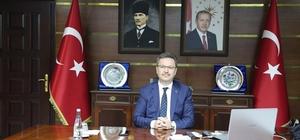 """Vali Ünlü, """"Eğitimde başarı tesadüf değil"""" LGS'de  2019 yılında Türkiye üçüncülüğü başarısını elde eden Giresun 2020 yılında da 286 puan olan Türkiye ortalamasına 15 puan fark attı"""