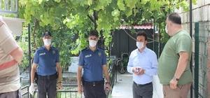 Isparta'nın Senirkent ilçesinde 6 vaka görülen bina karantinaya alındı
