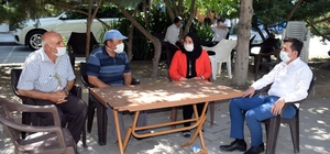 İscehisar'da esnaf ve vatandaşlara yönelik Korona denetimi