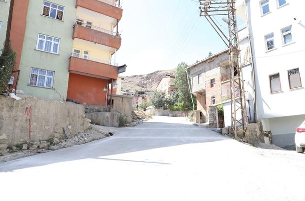 Hakkari'de yüzey sertleştirici beton uygulaması