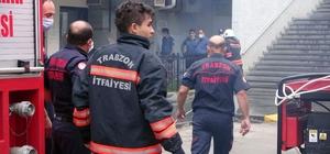 KTÜ Farabi Hastanesi'ndeki yangın paniğe neden oldu Ölen ya da yaralananın olmadığı yangında ameliyathanede yoğun duman nedeniyle hastalar başka ameliyathaneye alındı