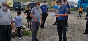 Ardahan'da düğün organizasyonlarında maske, mesafe ve hijyen kuralları denetlendi