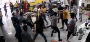 Hasta yakınlarının güvenlik görevlilerini darp ettiği anlar kamerada Hastaneyi savaş alanına çeviren 5 kişiden 2'si tutuklandı