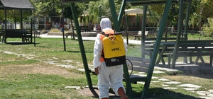 Tatvan Belediyesinden dezenfekte çalışması