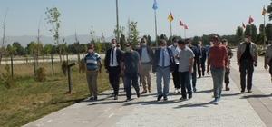 Muş Valisi Gündüzöz, Malazgirt Meydan Muharebesi Tarihi Milli Parkı'nda incelemelerde bulundu