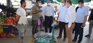 Viranşehir'de korona virüs denetimleri