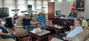 OGC'den Kaymakam Akpay'a ziyaret