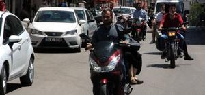 Kilis'teki araçların yarısı motosiklet