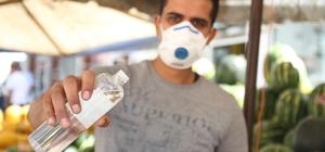 Zabıtalar semt pazarında 'korona virüs' denetiminde: 'Aileniz için maske takın' uyarısı Kırıkkale'deki semt pazarlarında 'korona virüs' denetimi yapıldı