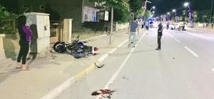 İpsala'da motosiklet ve otomobil çarpıştı: 1 ölü, 1 yaralı