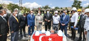 Muradiye'de polis lojmanlarının temeli törenle atıldı