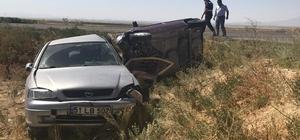 Niğde'de 2 otomobil çarpıştı: 7 yaralı