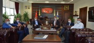 Türkiye Şeker Fabrikaları Genel Müdür Alkan, Rektör Karakaya'yı ziyaret etti KAEÜ'si, Ar-Ge Merkezi Olma yolunda çalışmalar yürütüyor