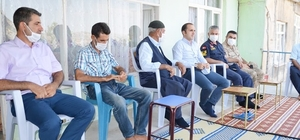 Çermik İlçe Kaymakamı Polat'tan şehit ailesine ziyaret
