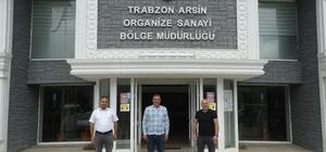 ASKON VE TÜKOSİAD'dan Trabzon Arsin OSB'yi ziyaret