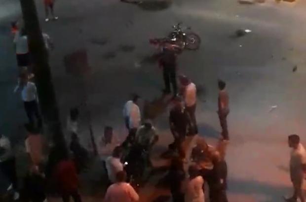 Motosiklet ile kamyonet çarpıştı; 1 ölü, 3 yaralı
