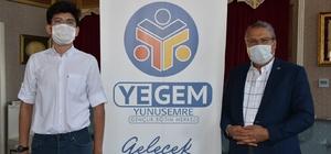 Manisa 1'incisi ve Türkiye 6'ncısı YEGEM'den