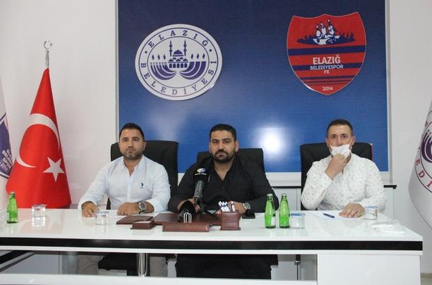"""Elazığ Belediyespor'da yeni yönetim hedeflerini açıkladı Elazığ Belediyespor Başkanı Tuncay Kaymak: """"İlk hedeflerimizden birisi altyapı"""""""