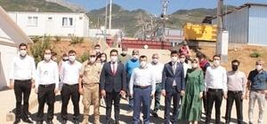Göç İdaresi Genel Müdürü Savaş Ünlü barınma kamplarını ziyaret etti